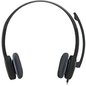 Logitech H151 Kopfhörer mit Mikrofon, Stereo-Headset