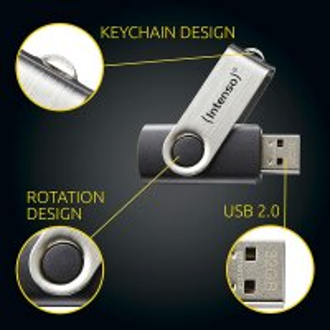Intenso BASIC LINE USB - Stick 64 GB